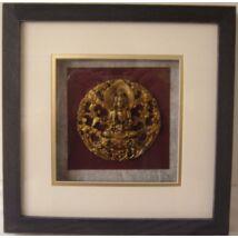 437-2  Falikép -Buddha-