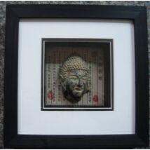 459-1  Falikép -Buddha fej- antik