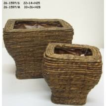 "26-1597/S  Kaspó ""Design"" tégla"