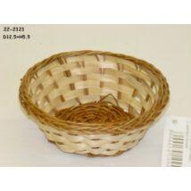 22-2121  Bambusz kosár MINI kerek