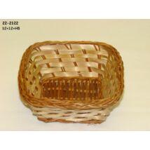 22-2122  Bambusz kosár MINI kocka