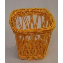 38-32/Narancs   Rattan pohár kocka