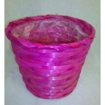 66-32/PINK  Bambusz kaspó Pink