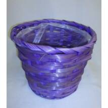 66-32/V  Bambusz kaspó lila