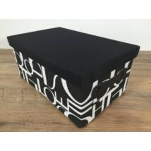 55-LF-80/M  Textil doboz betűk