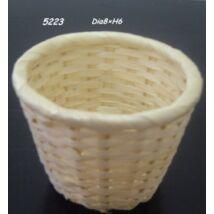 5223 Bambusz kosár natúr