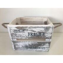 60-20/S Faláda fehér-ANTIK FRAGILE