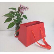 Virág ajándék papírdoboz