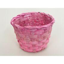 66-29-A/PINK Bambusz pohár antik/pink