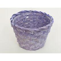 66-29-A/V Bambusz pohár antik/lila