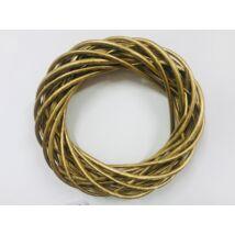 A-25/GOLD Koszorúalap 25cm arany