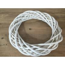 A-35/W   Koszorúalap 35cm fehér