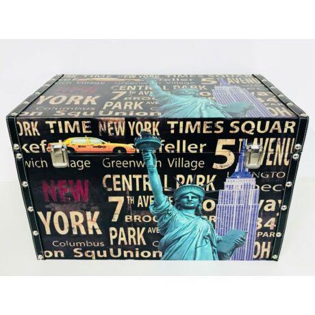 Design láda New York