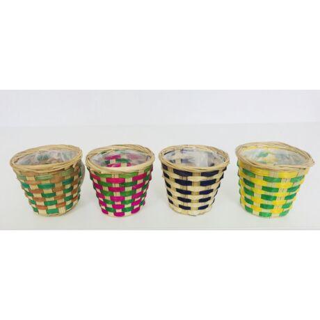 12-38-POHÁR/CS  Bambusz pohár mix