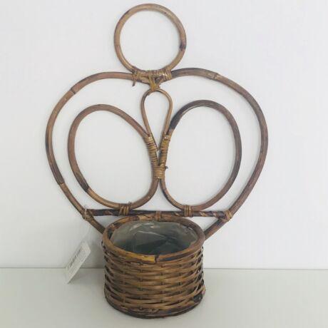 47-526  Fali bambusz kaspó